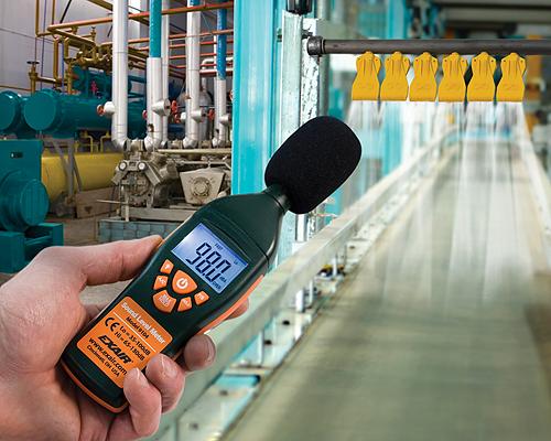 Điều khiển kiểm tra tiếng ồn khu vực | TIÊU ÂM